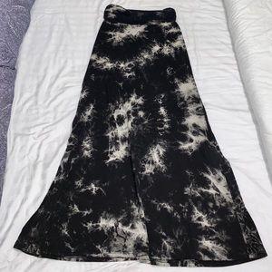 Tie Dye Maxi Skirt